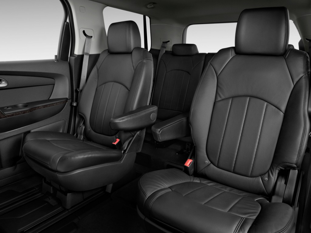 Image 2012 Gmc Acadia Fwd 4 Door Denali Rear Seats Size