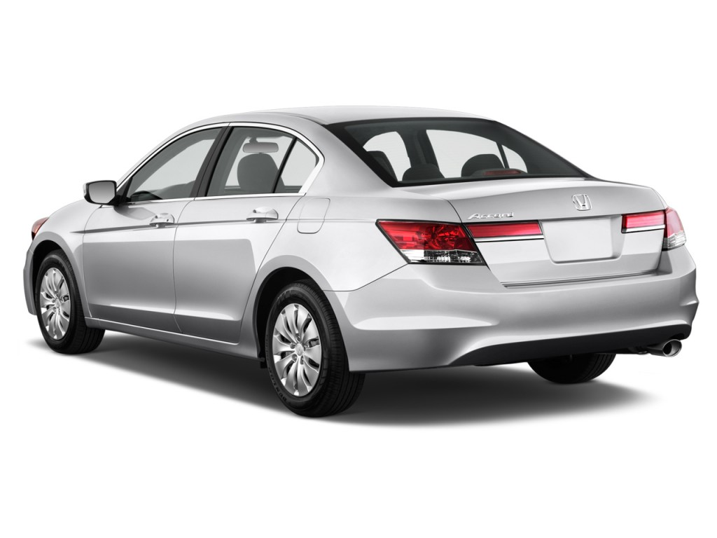 2012 Honda Accord Sedan 4 Door I4 Auto Lx Angular Rear