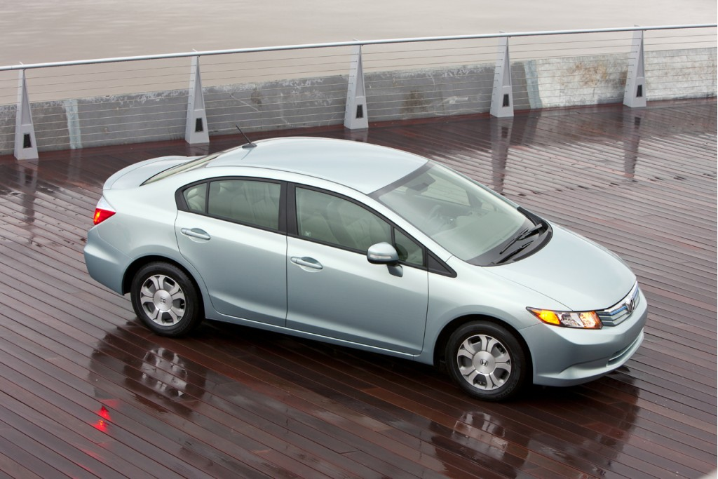 44 mpg 2012 honda civic hybrid at ny auto show drive review. Black Bedroom Furniture Sets. Home Design Ideas
