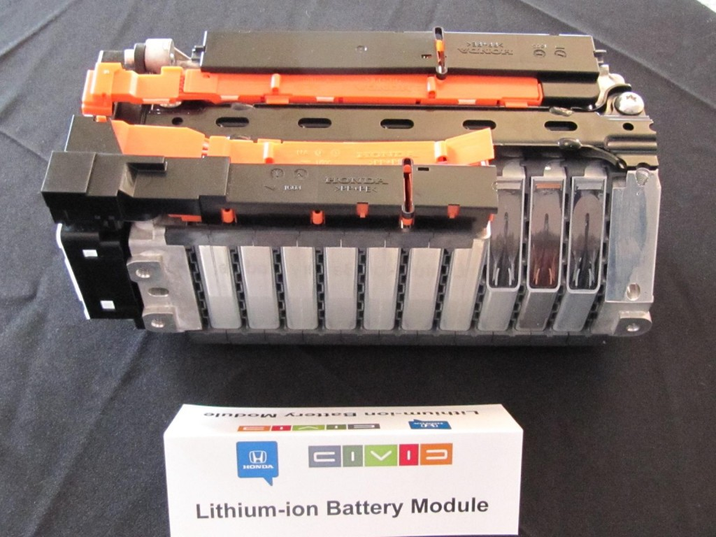Image 2012 Honda Civic Hybrid Cutaway Of Lithium Ion