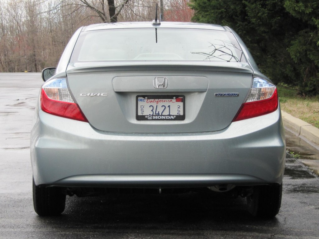 2012 Honda Civic Hybrid Hammer It How High Is Gas Mileage
