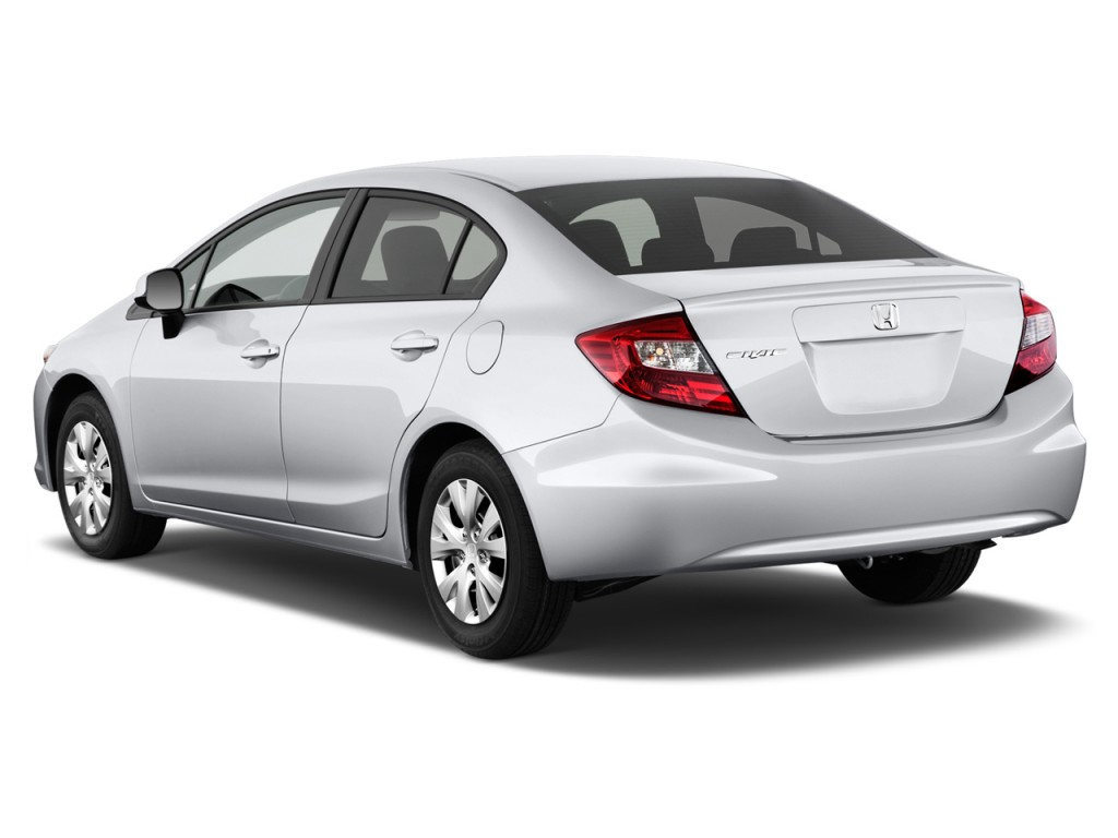 Image 2012 Honda Civic Sedan 4 Door Auto Lx Angular Rear Exterior View Size 1024 X 768 Type