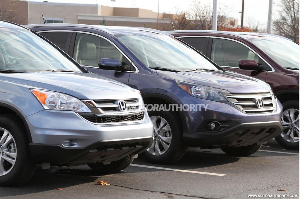 2012 honda cr v spy shots. Black Bedroom Furniture Sets. Home Design Ideas