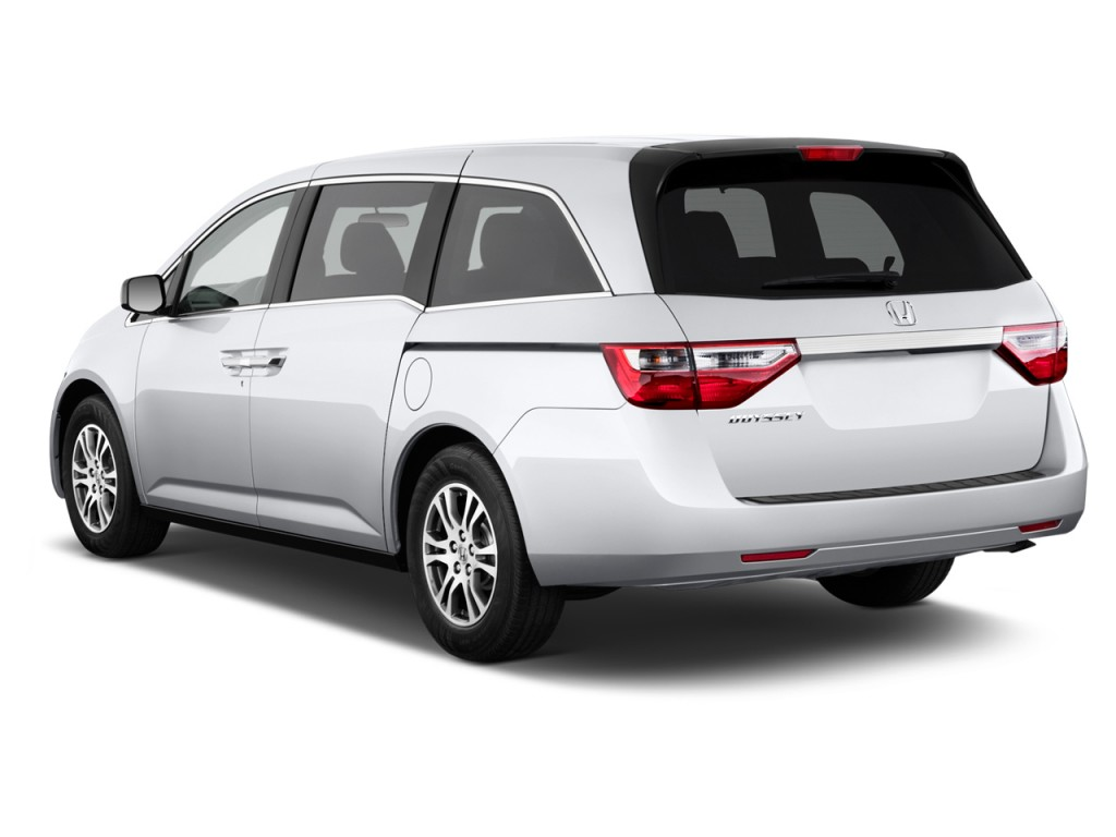 Image 2012 Honda Odyssey 5dr Ex Angular Rear Exterior View Size 1024 X 768 Type Gif Posted
