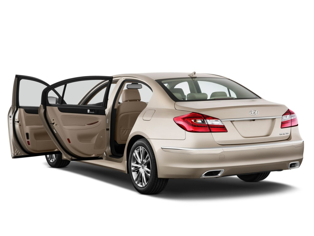 image 2012 hyundai genesis 4 door sedan v6 open doors size 1024 x 768 type gif posted on. Black Bedroom Furniture Sets. Home Design Ideas