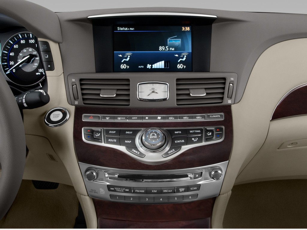2012 Infiniti M56 Sedan Temparature Controler