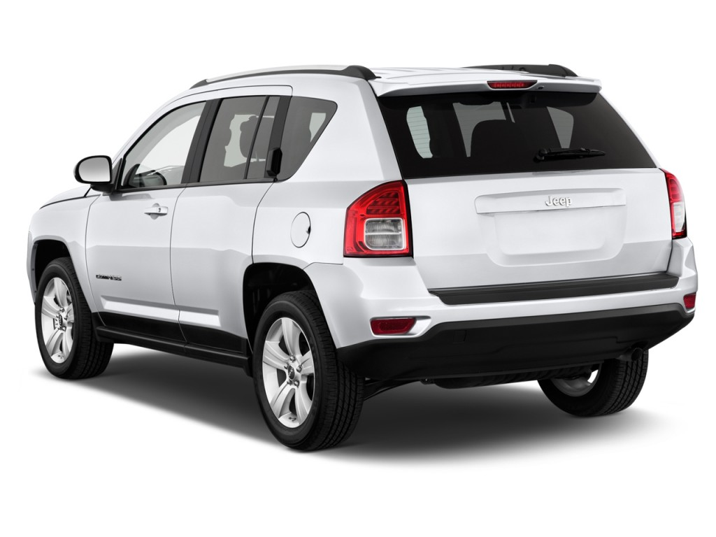 2012 Jeep Compass FWD 4-door Sport Angular Rear Exterior View