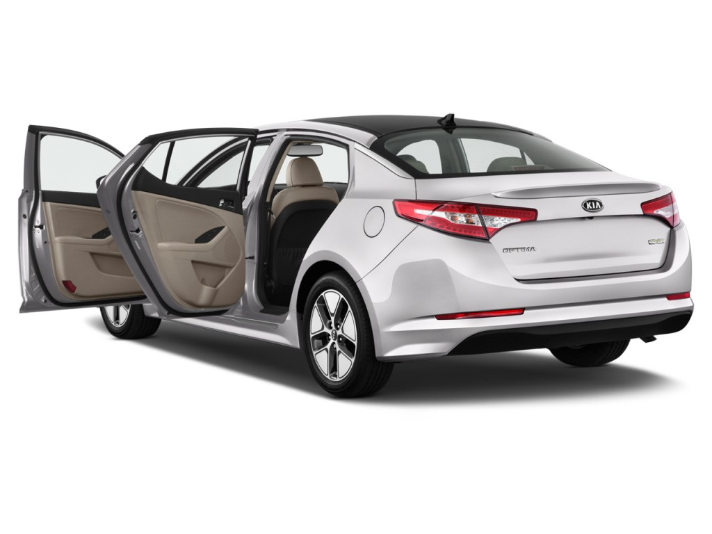 Image 2012 kia optima 4 door sedan 2 4l auto ex hybrid for Door 2 door cars