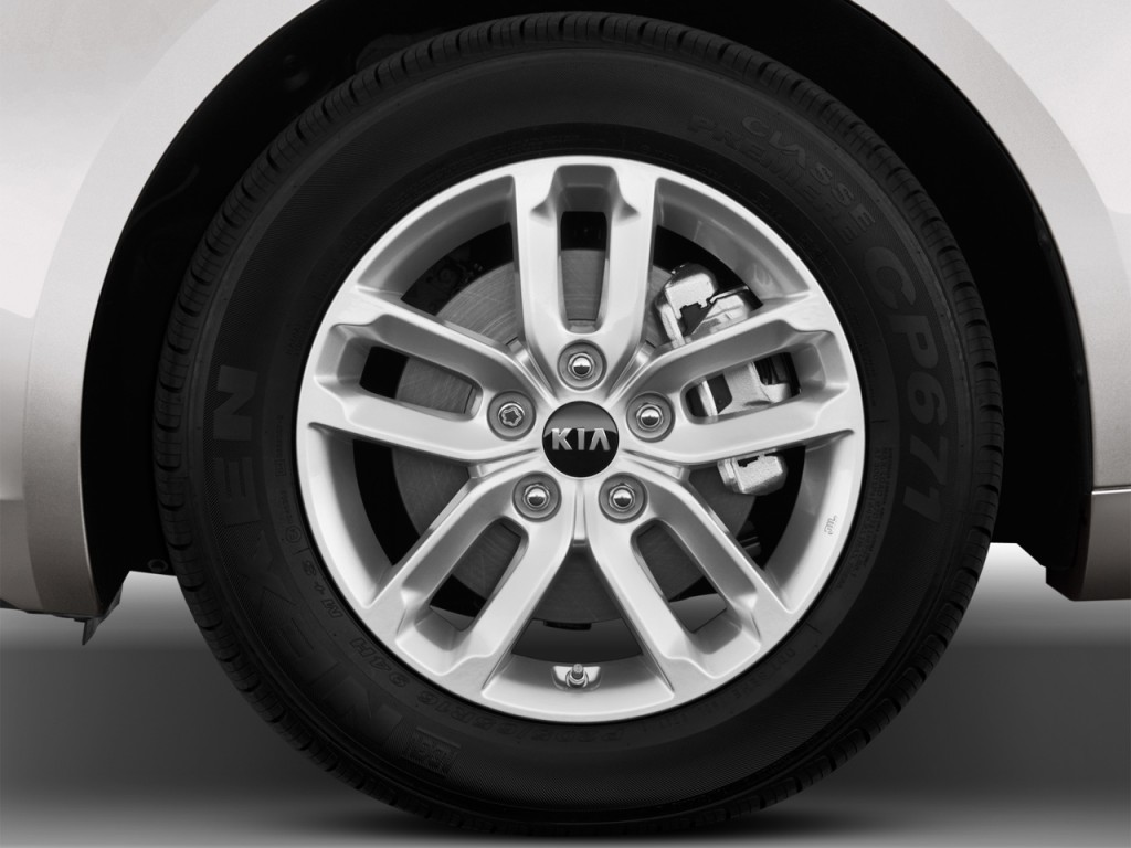 Image: 2012 Kia Optima 4-door Sedan 2.4L Auto LX Wheel Cap, size: 1024 ...