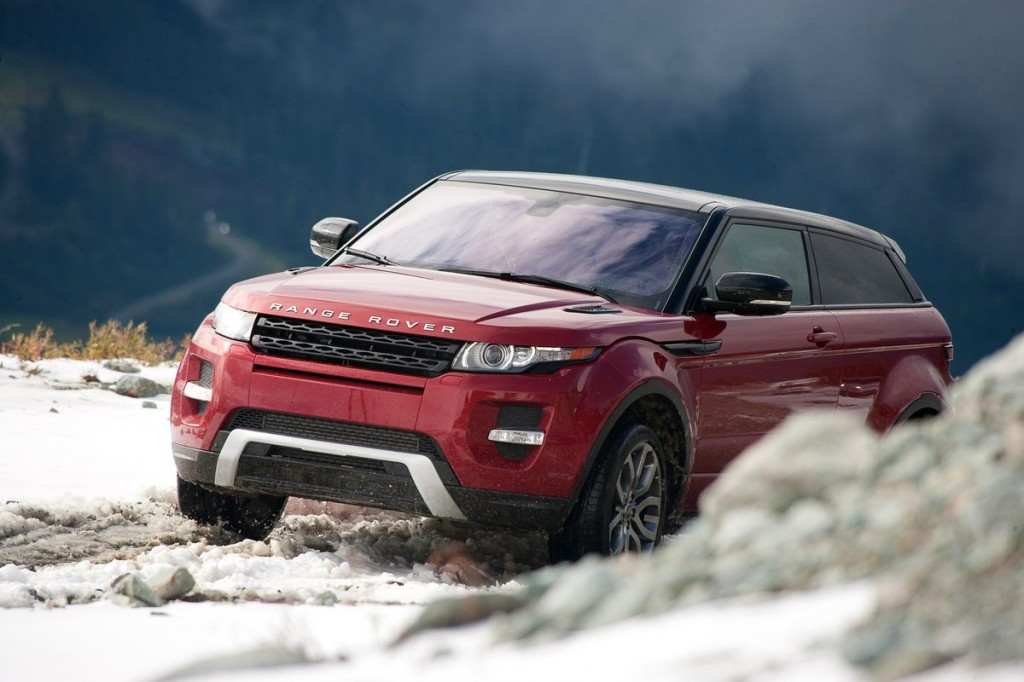 2012 land rover range rover evoque off road first drive. Black Bedroom Furniture Sets. Home Design Ideas