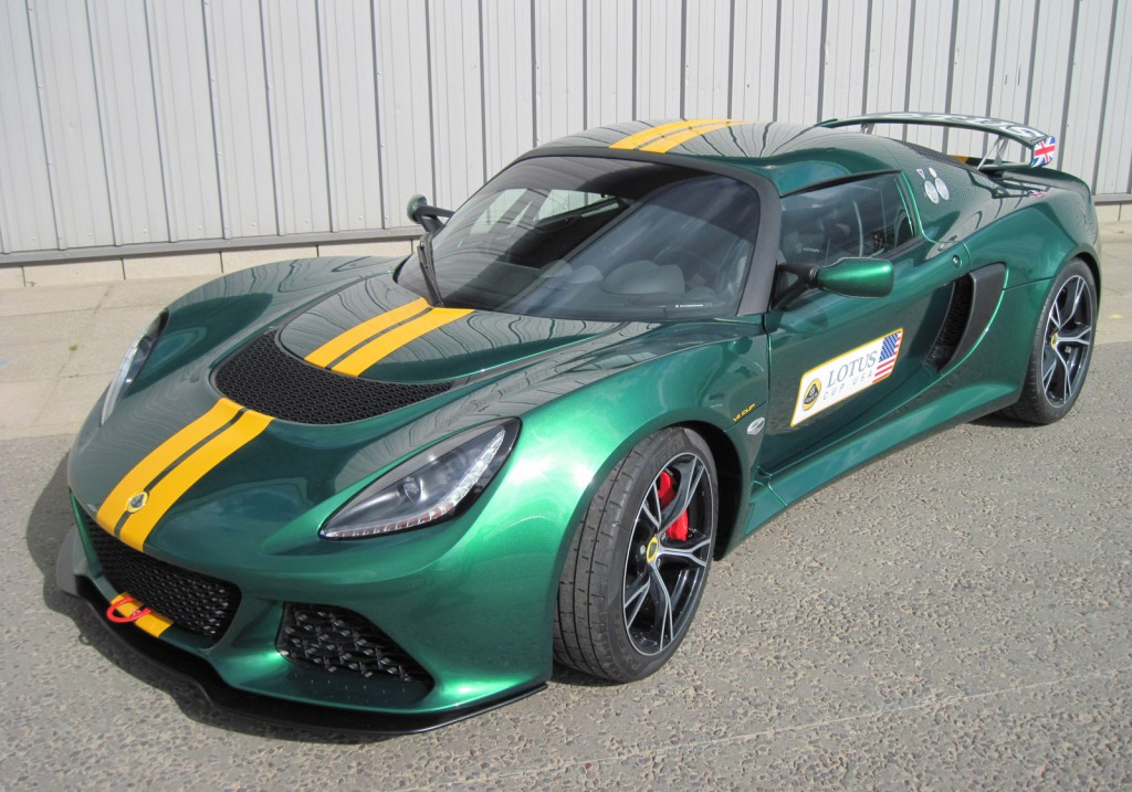 lotus confirms exige v6 cup track car for u s. Black Bedroom Furniture Sets. Home Design Ideas