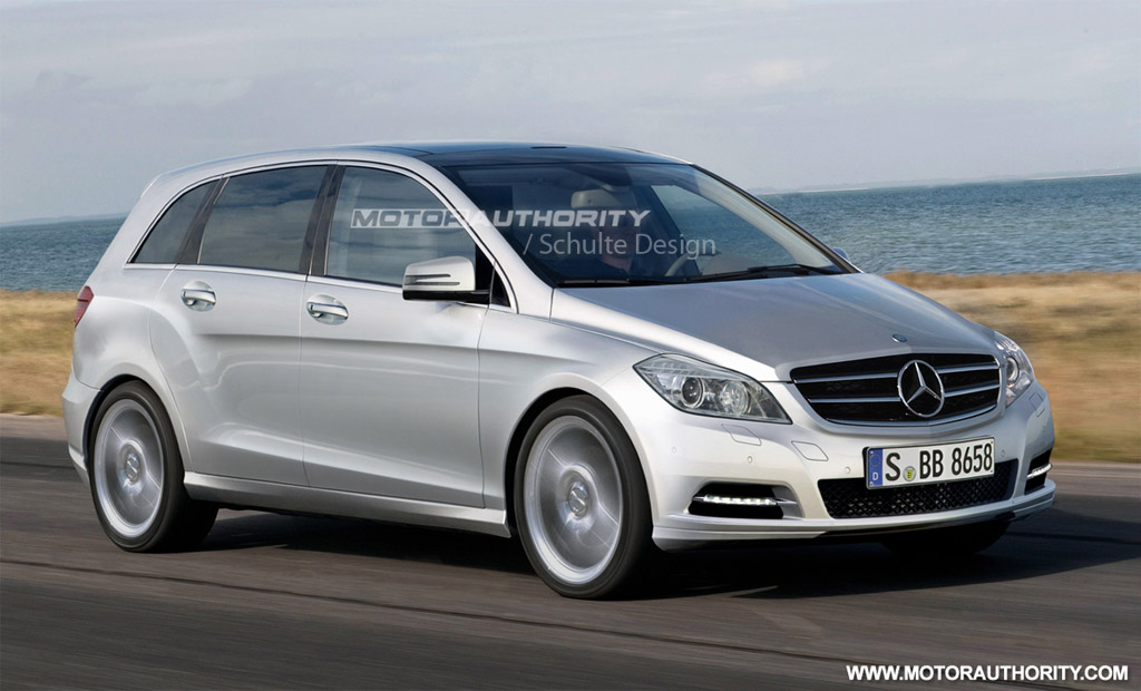 rendered 2012 mercedes benz b class