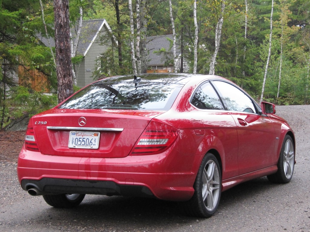 2012 Mercedes Benz C Class Four Cylinder C 250 Drive Report Page 2