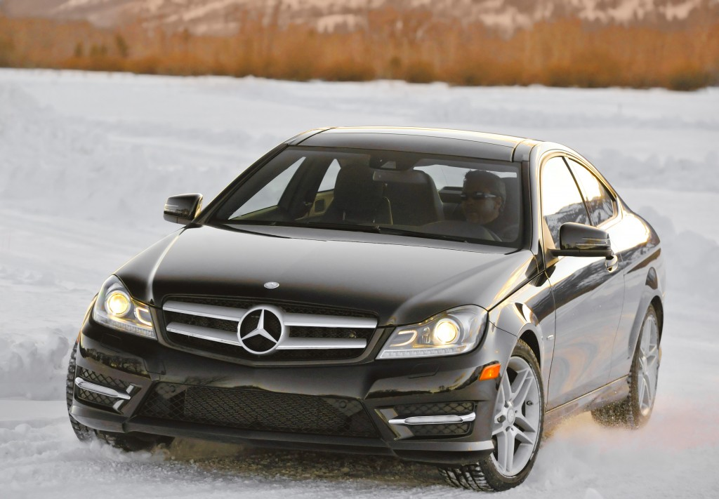 2012 mercedes benz c350 4matic coupe walkaround video for Mercedes benz c300 4matic 2012