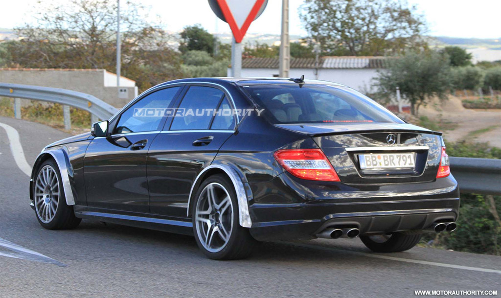 image 2012 mercedesbenz c63 amg black series spy shots