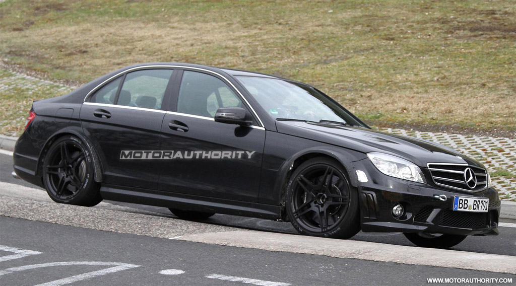 Image 2012 Mercedes Benz C63 Amg Black Series Spy Shots