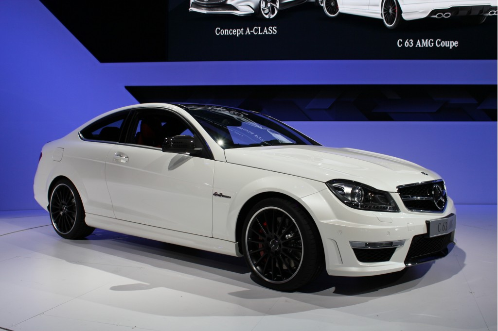 2012 mercedes benz c63 amg coupe 2011 new york auto show for 2012 mercedes benz c63 amg price