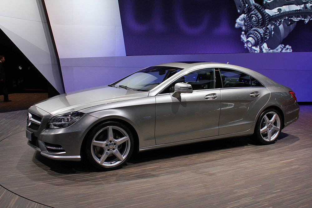 2012 Mercedes-Benz CLS 550: First Look