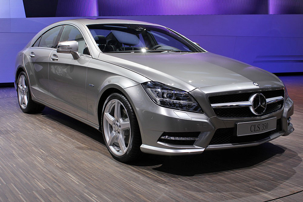 2012 mercedes benz cls 550 first look