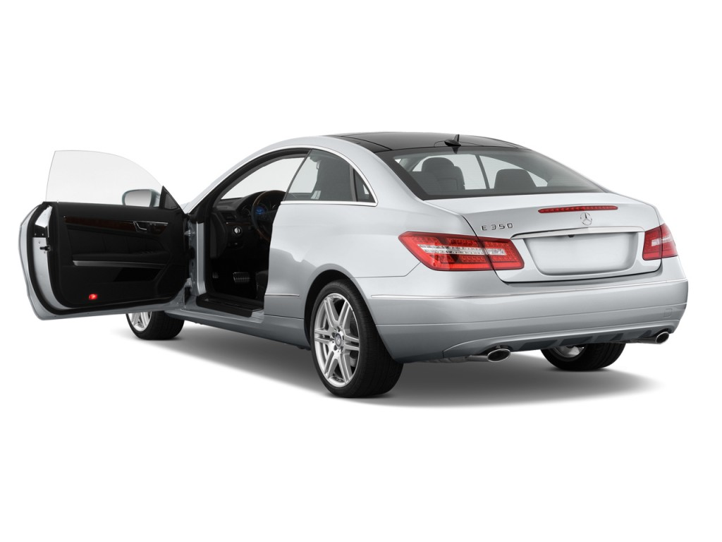 Image: 2012 Mercedes-Benz E Class 2-door Coupe 3.5L RWD Open Doors ...