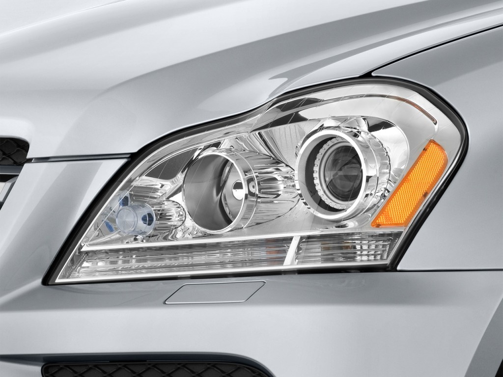 2012 mercedes benz gl class pictures photos gallery the for Mercedes benz headlight