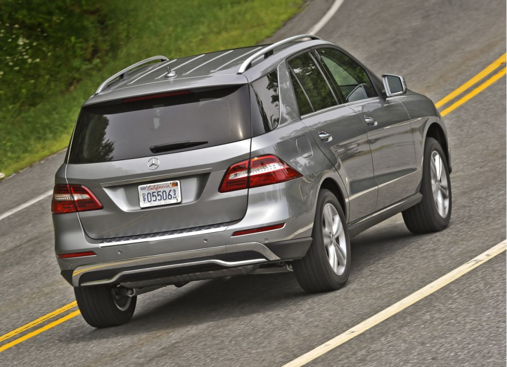 2012 mercedes benz m class more features same price as 2011 for Mercedes benz ml350 price