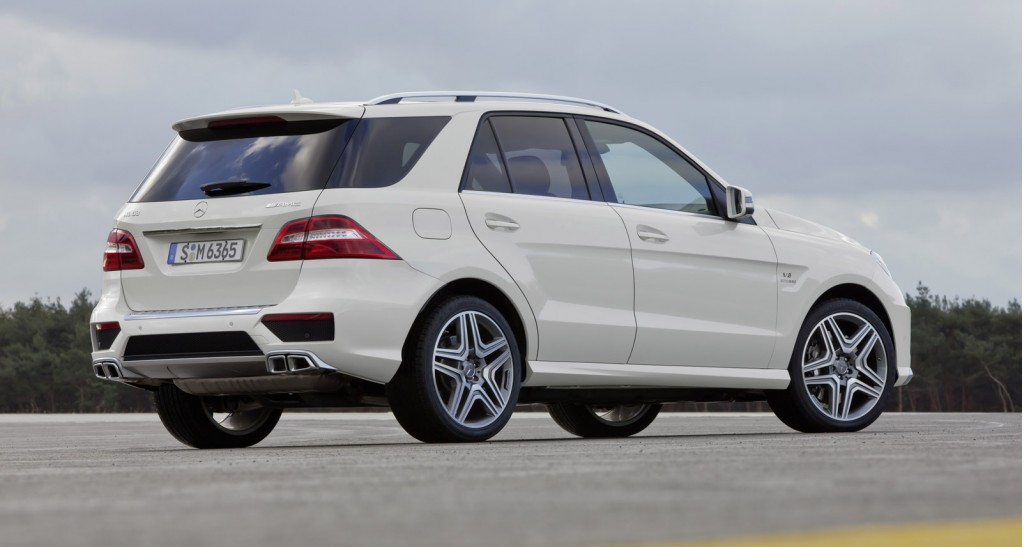2012 Mercedes Benz Ml63 Amg Priced From 95 865