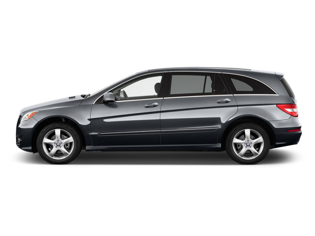 Image 2012 mercedes benz r class 4matic 4 door 3 5l side for Mercedes benz r350 for sale 2012