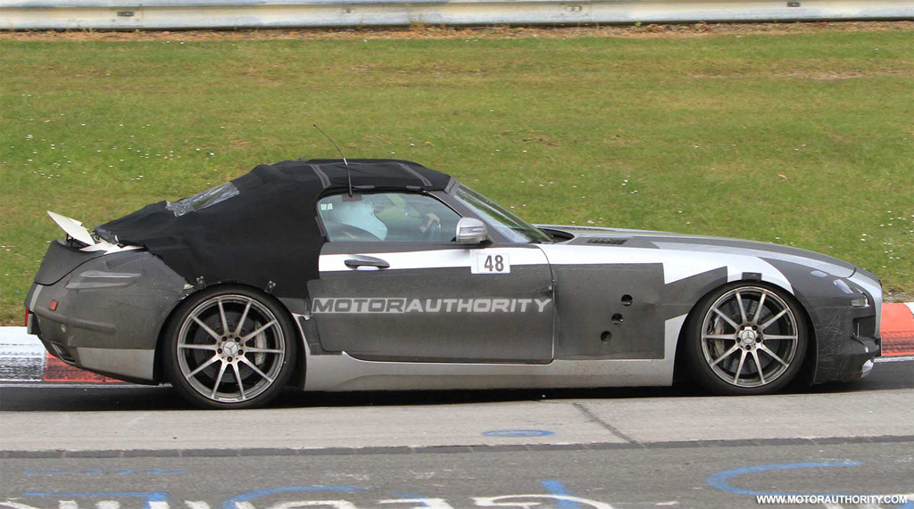 2012 mercedes benz sls amg roadster to debut at 2011 for 2012 mercedes benz sls amg