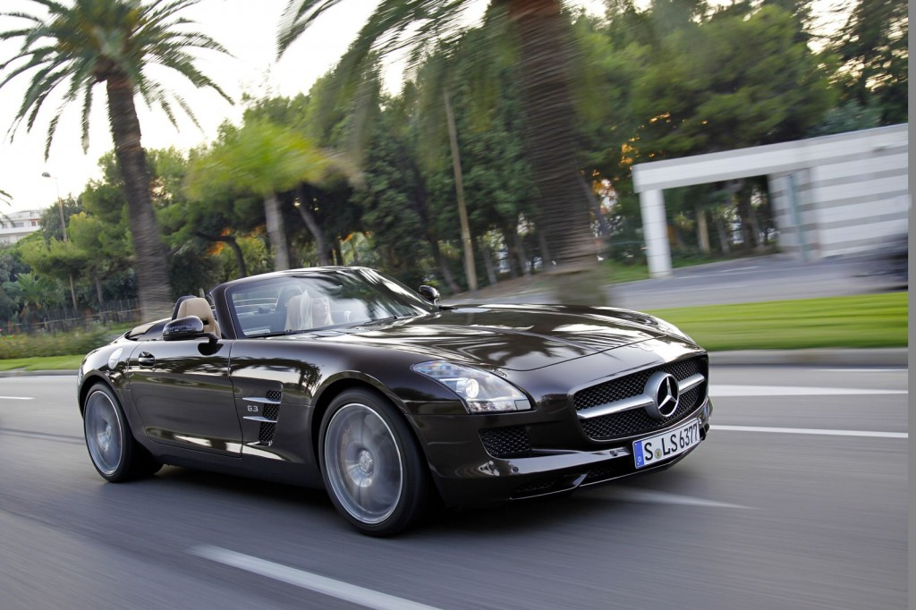 2012 mercedes benz sls amg roadster first drive. Black Bedroom Furniture Sets. Home Design Ideas