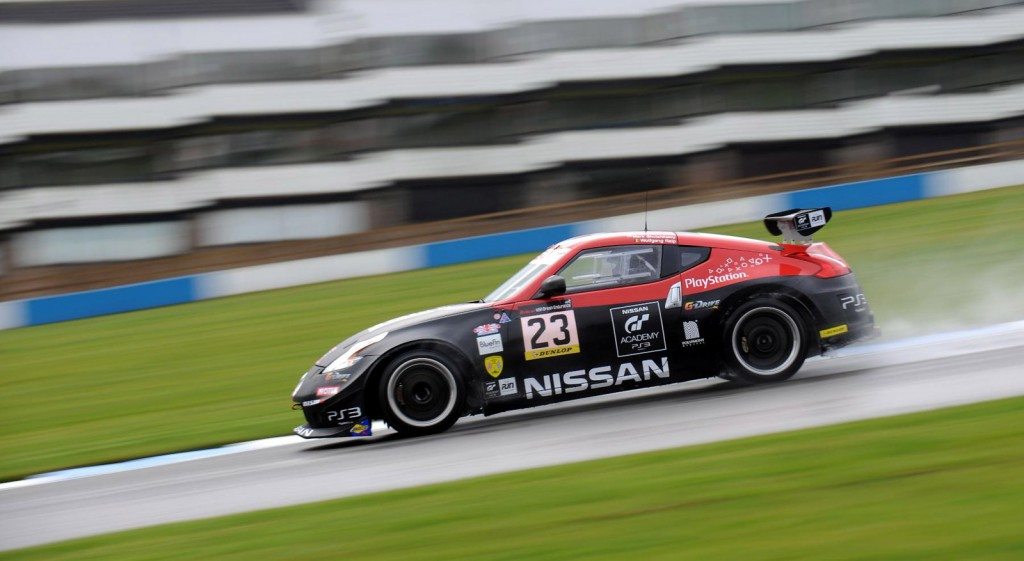 2012 Nissan 370Z Nismo GT4 race car