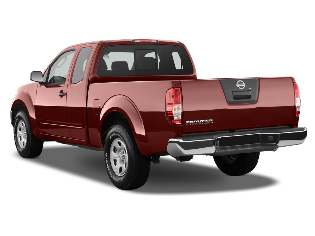 image 2012 nissan frontier 2wd king cab i4 auto sv angular rear exterior view size 1024 x 768. Black Bedroom Furniture Sets. Home Design Ideas
