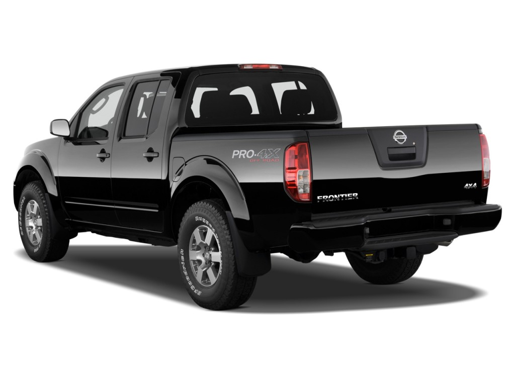 image 2012 nissan frontier 4wd crew cab swb auto pro 4x angular rear exterior view size 1024. Black Bedroom Furniture Sets. Home Design Ideas