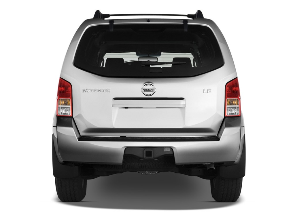 Image 2012 Nissan Pathfinder 4wd 4 Door V8 Le Rear