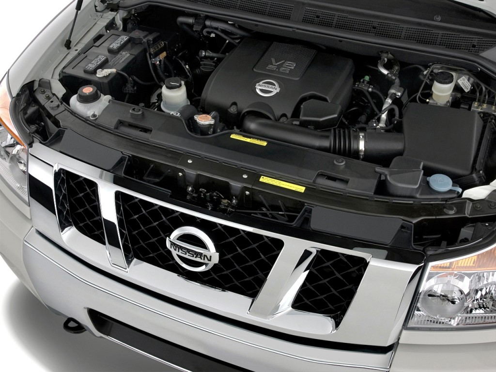 image 2012 nissan titan 4wd crew cab swb sl engine size. Black Bedroom Furniture Sets. Home Design Ideas