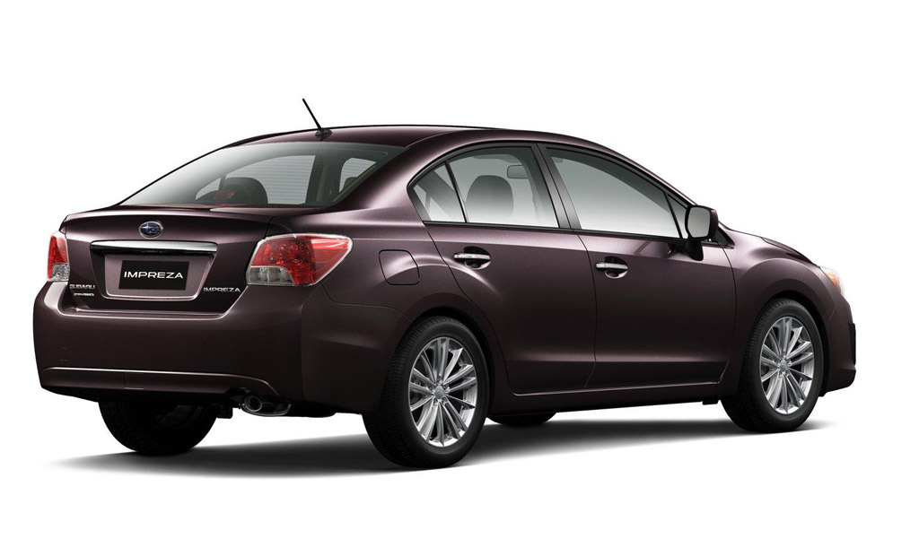 2012 subaru impreza sedan and hatchback 2011 new york auto show. Black Bedroom Furniture Sets. Home Design Ideas