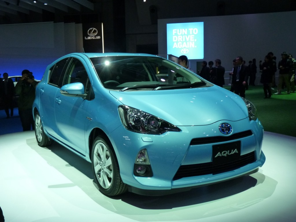 2012 Toyota Prius C Compact Hybrid: 2011 Tokyo Motor Show ...