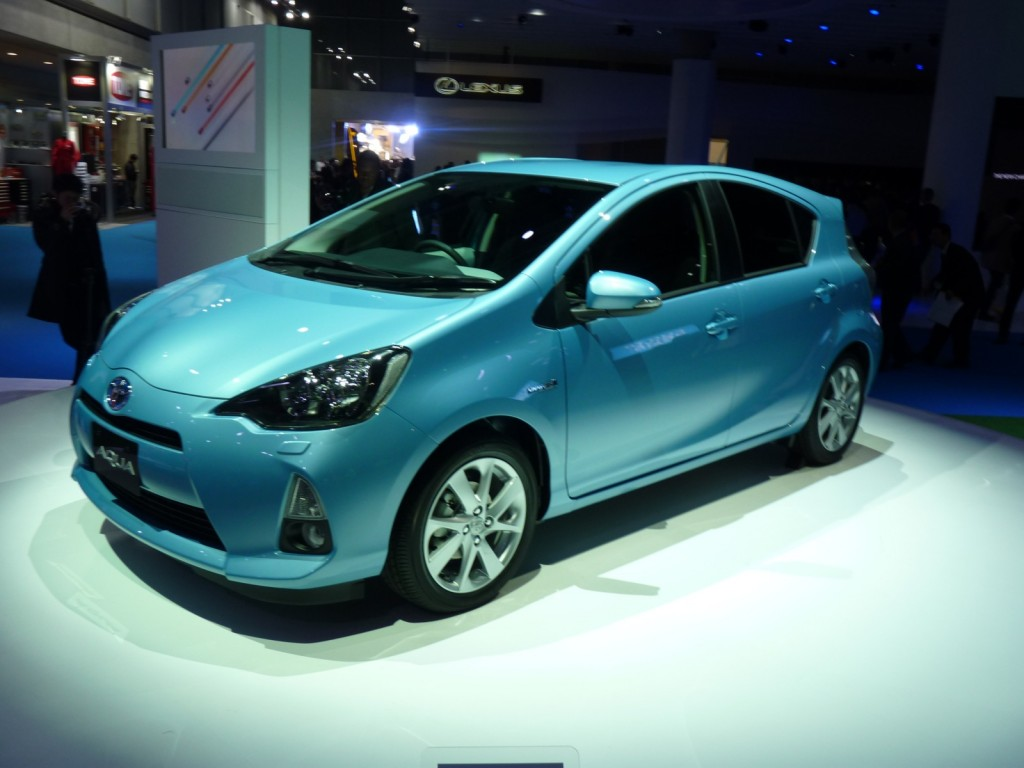 2012 Toyota Prius C Compact Hybrid On Sale In Japan ...