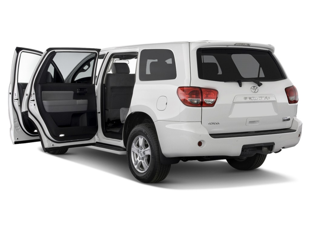image 2012 toyota sequoia rwd 5 7l sr5 se open doors size 1024 x 768 type gif posted on. Black Bedroom Furniture Sets. Home Design Ideas