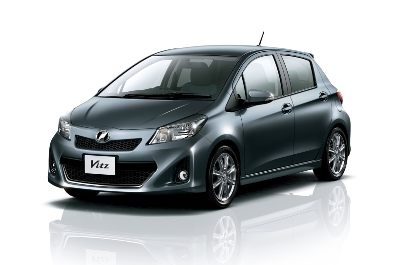 japanese market vitz previews new 2012 toyota yaris. Black Bedroom Furniture Sets. Home Design Ideas