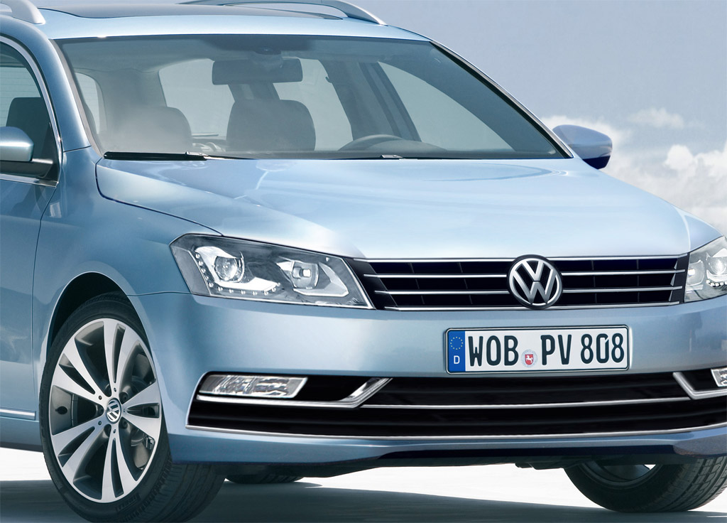 rendered 2012 volkswagen passat wagon. Black Bedroom Furniture Sets. Home Design Ideas