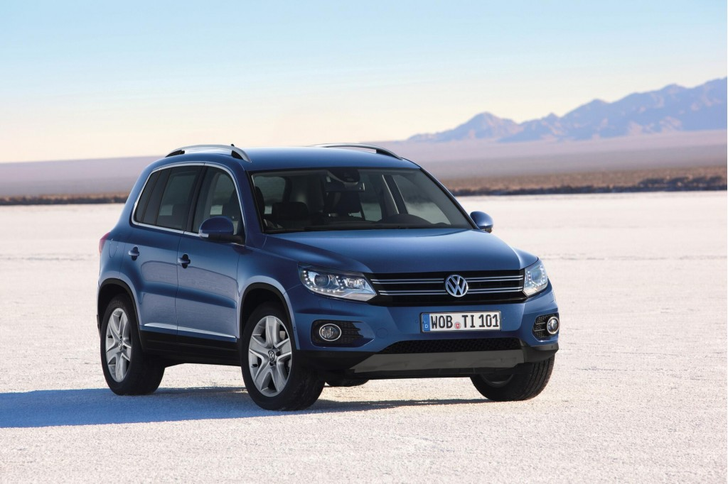 2011 geneva motor show preview 2012 volkswagen tiguan facelift. Black Bedroom Furniture Sets. Home Design Ideas