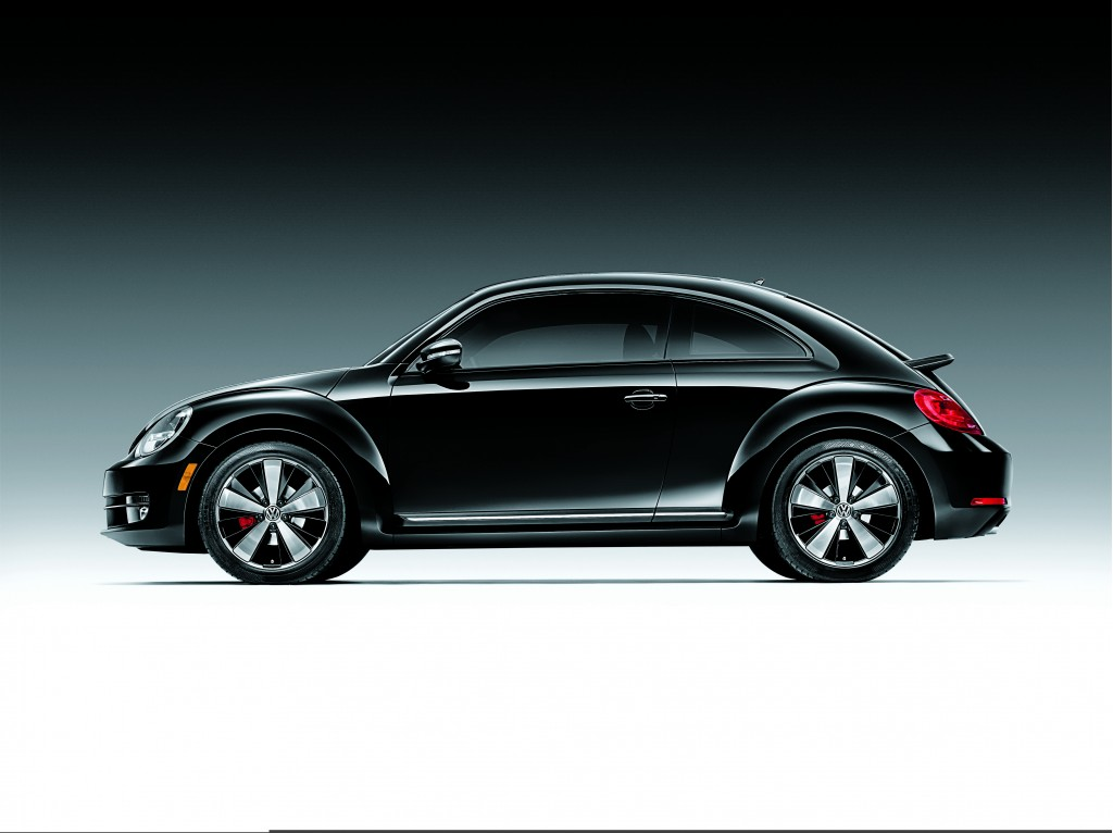 2012 VW Beetle Black Turbo Edition Launches Pre-Order Program