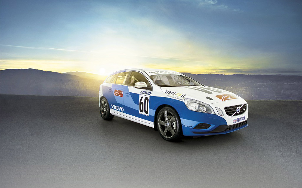 volvo v60 racing concept debuts at 2012 sao paulo auto show. Black Bedroom Furniture Sets. Home Design Ideas