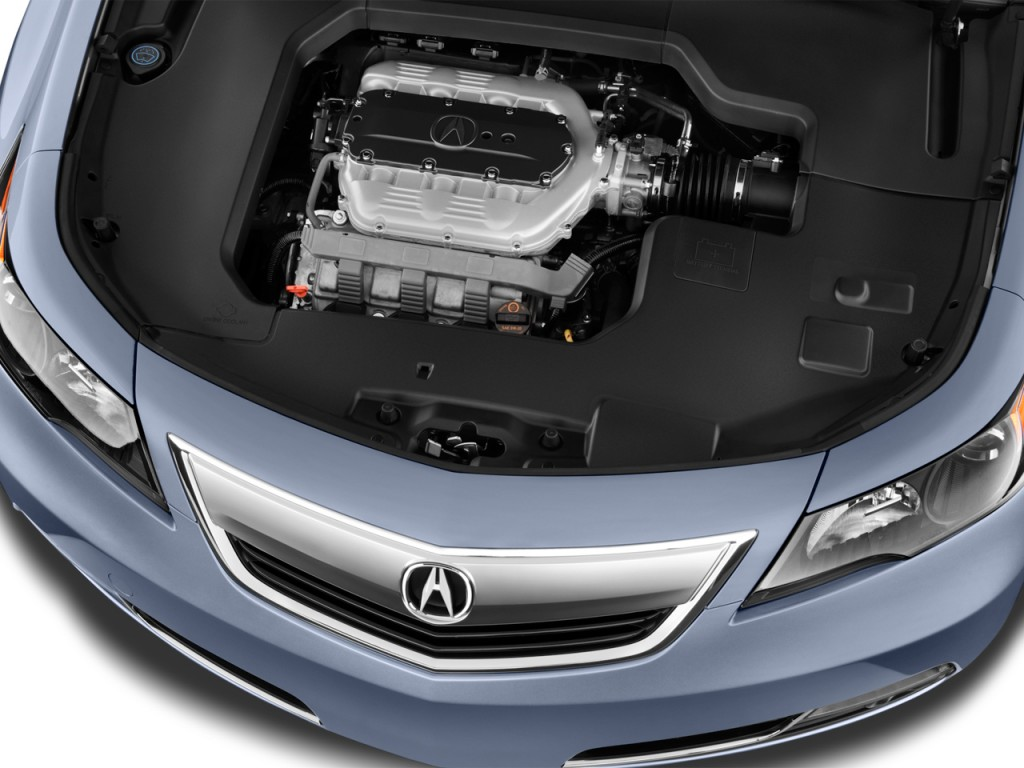 Image: 2013 Acura TL 4-door Sedan Auto 2WD Advance Engine, size: 1024 x 768, type: gif, posted ...
