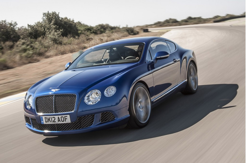 2013 bentley continental gt speed priced from 220 725. Black Bedroom Furniture Sets. Home Design Ideas