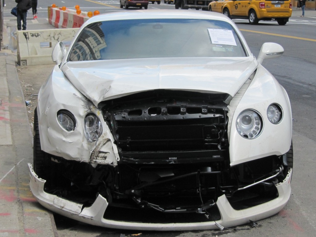 2013 bentley related imagesstart 450 weili automotive network wrecked 2013 bentley continental gt at the curb on a street in vanachro Choice Image