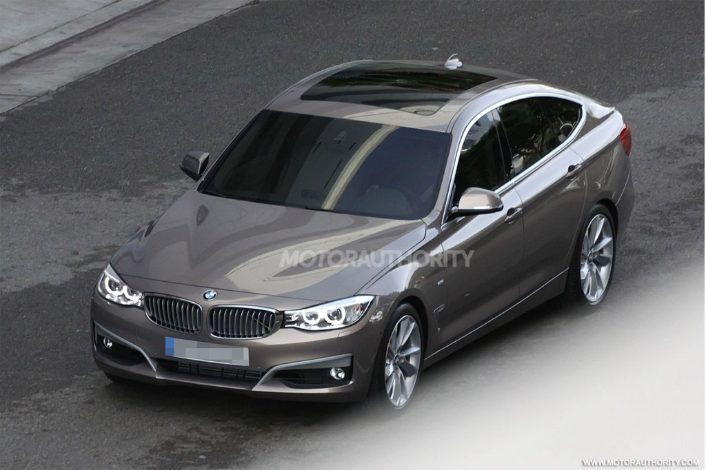 2013 bmw 3 series gt revealed in new spy shots. Black Bedroom Furniture Sets. Home Design Ideas
