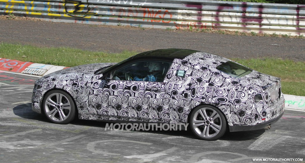 2014 Bmw 4 Series Coupe Spy Video
