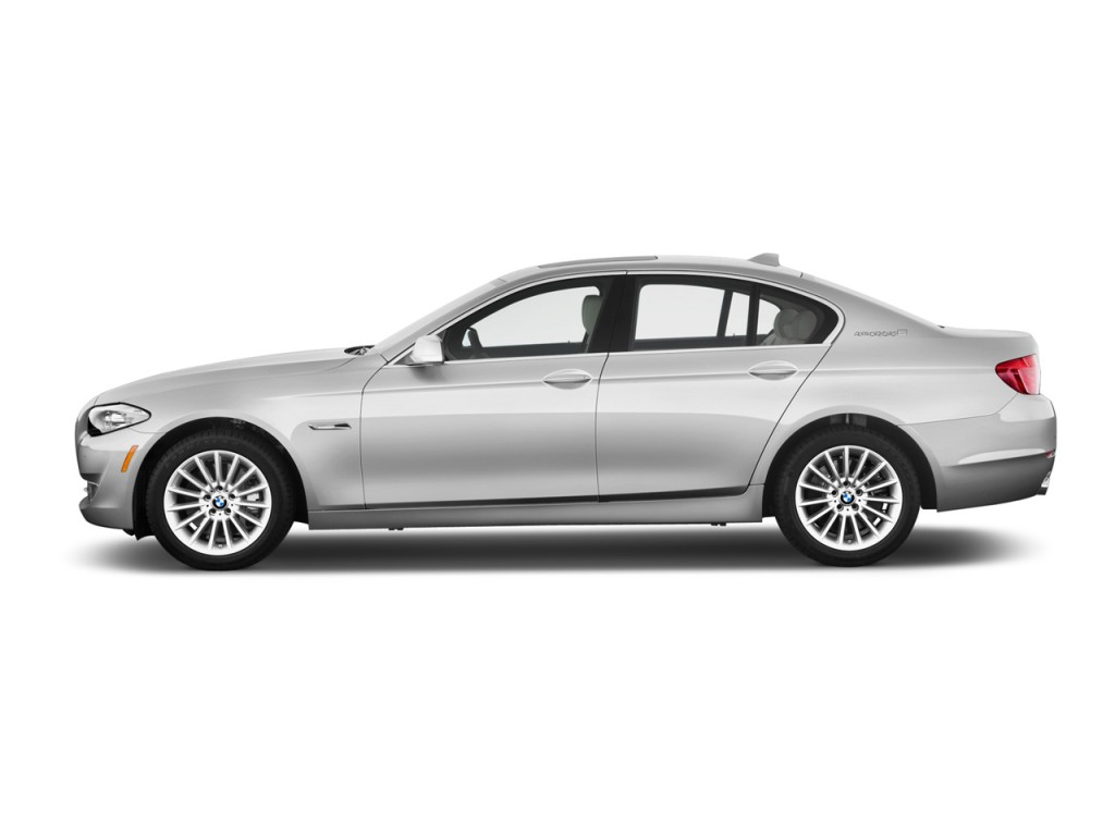 2013 bmw 5 series 4 door sedan activehybrid 5 rwd side exterior view. Black Bedroom Furniture Sets. Home Design Ideas